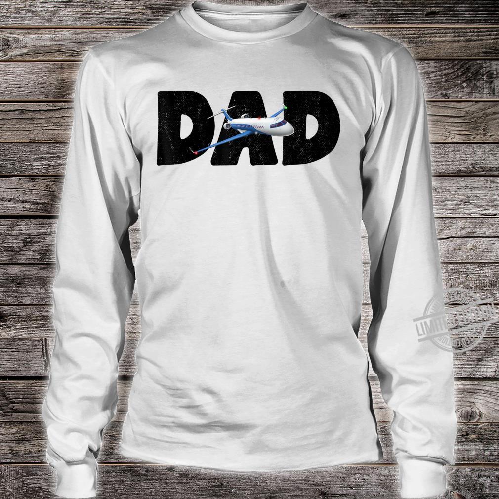 Airplane Dad Aviator Flying Aircraft Shirt long sleeved