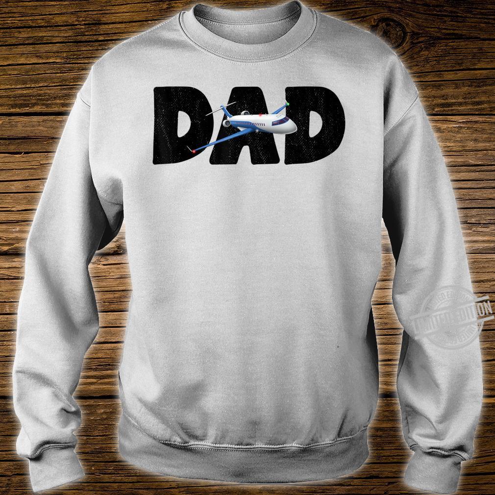 Airplane Dad Aviator Flying Aircraft Shirt sweater