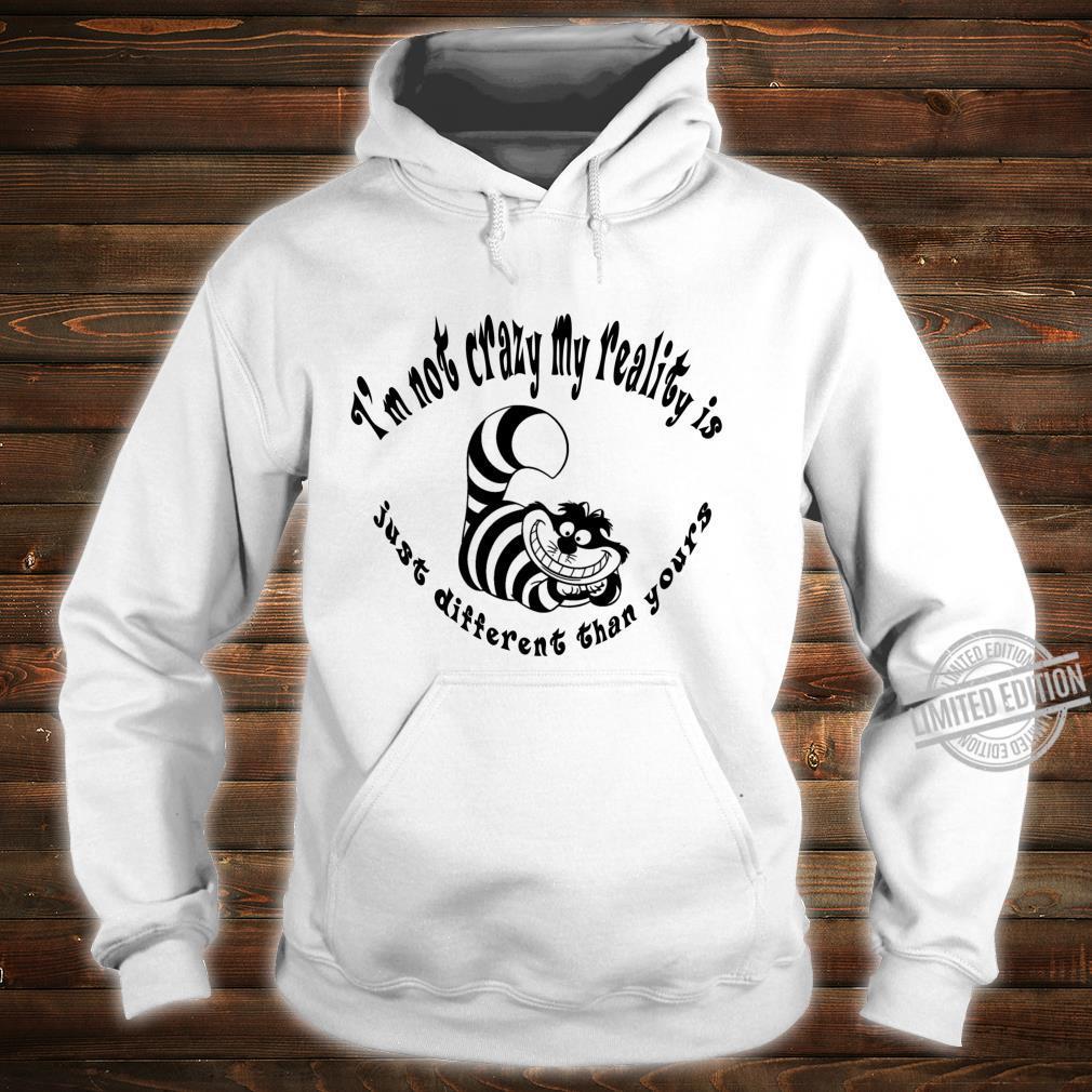 Alice In Wonderland Cheshire Cat Gone Bonkers Tea Party Shirt hoodie