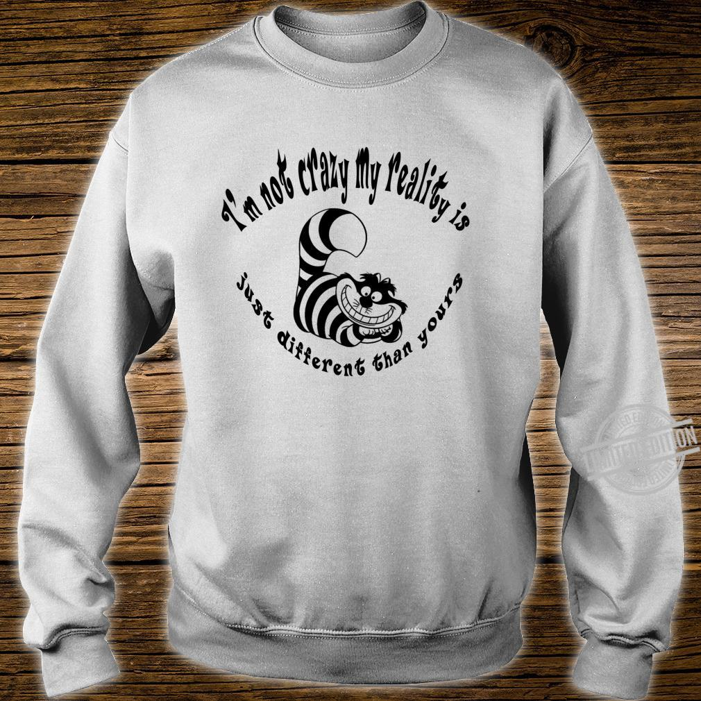 Alice In Wonderland Cheshire Cat Gone Bonkers Tea Party Shirt sweater