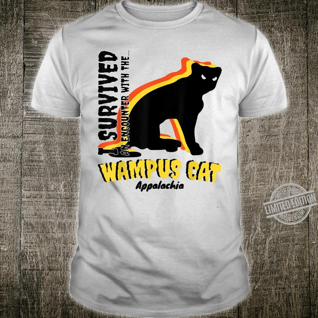 American Cryptids WAMPUS CAT I Survived an encounter... Shirt