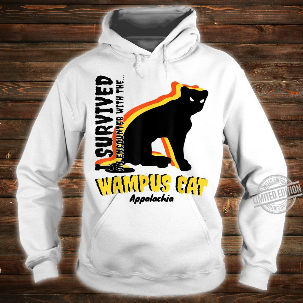American Cryptids WAMPUS CAT I Survived an encounter... Shirt hoodie