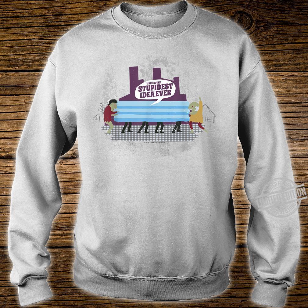 Anna And The Apocalypse Stupidest Idea Ever Shirt sweater