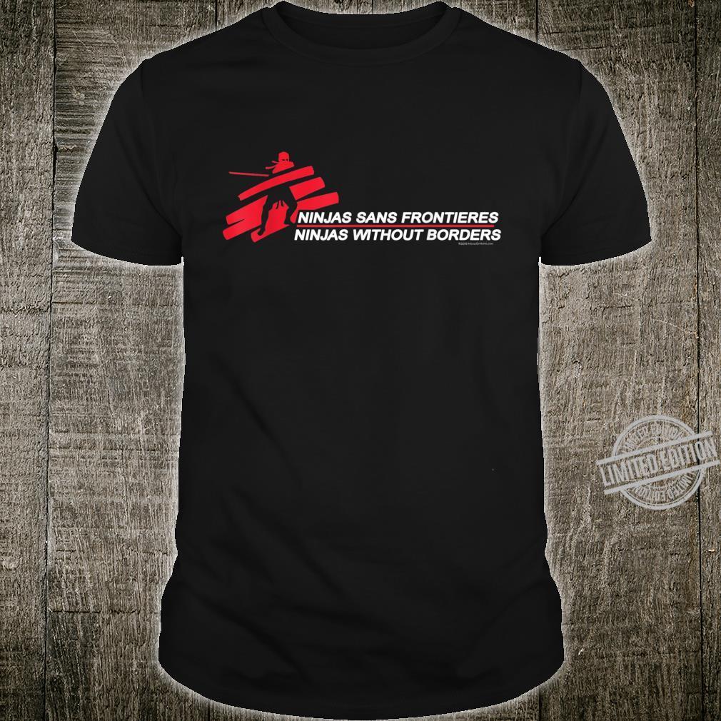 Funny Ninjas Martial Arts Karate Boys Dads Shirt